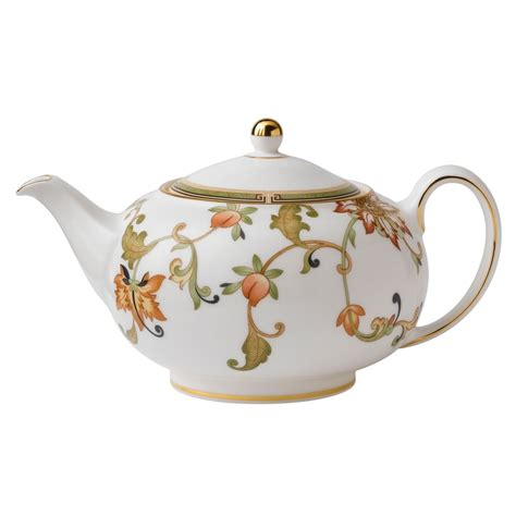 Country Dining Room Ideas by Wedgwood Fine Bone China Teapot Oberon