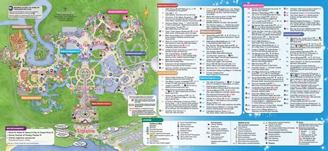 disney world magic kingdom map map of magic kingdom my