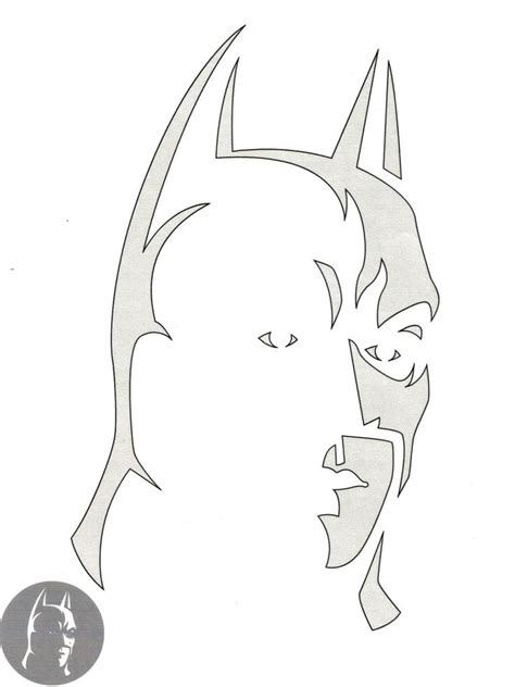 printable pumpkin stencils batman batman pumpkin carving patterns