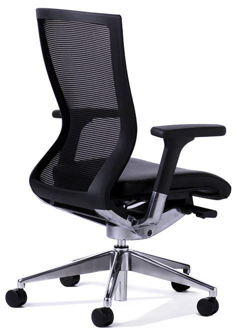 balance chair black balance black mesh back executive chair office stock