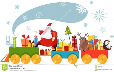 imagenes de navidad tren tren de la navidad imagen de archivo imagen 11942821