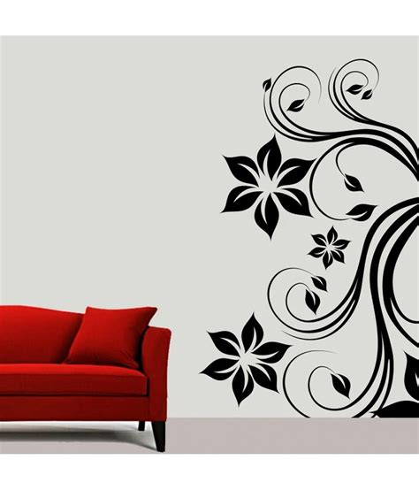 black wall sticker decor kafe black wall stickers buy decor kafe black wall stickers at best price in india on