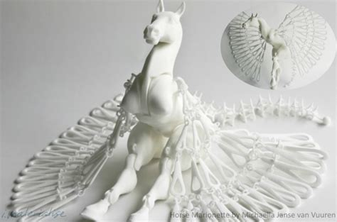 marionette layout view tutorial creating highly detail detailed asymmetrical 3d printed