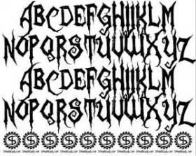 free printable halloween alphabet letters halloween leetering free halloween fonts upon a