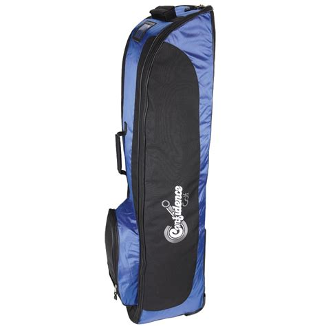 confidence golf bag travel cover royal blue with wheels ebay