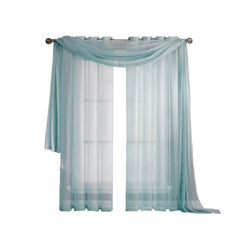 window elements sheer voile 56 in w x 216 in l