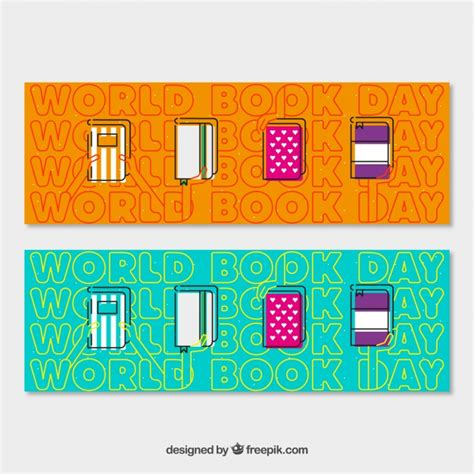 banner design book banners of books in flat design vector free download