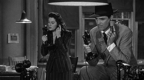 themes in his girl friday words in edgewise dialogue in his girl friday from the