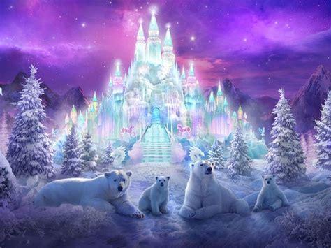 crystal castle interior mansion