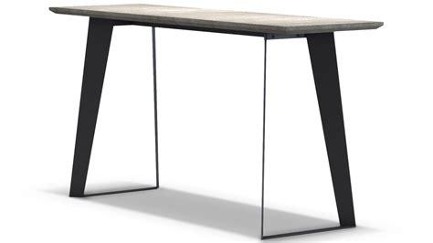 concrete top console table adal concrete top console table gray zuri furniture