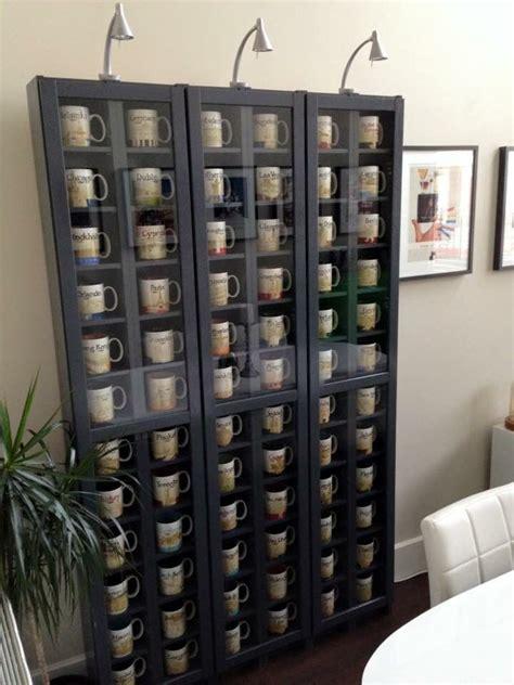 cabinet coffee mug rack 1000 ideas about coffee mug display on mug