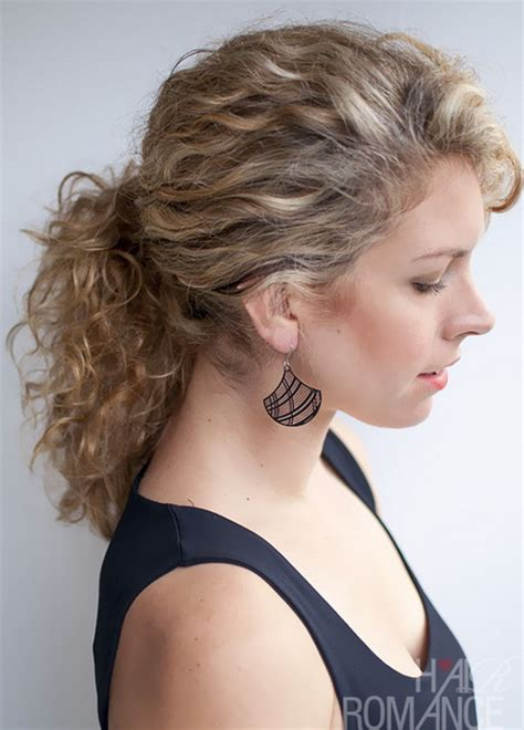 hairstyles curly ponytail curly ponytail hairstyles