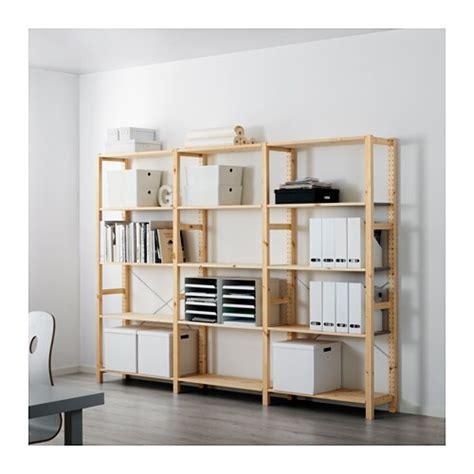 Ikea Scaffali Ivar by Ivar 3 Sektioner Hyllor Ikea