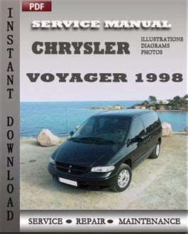 how to download repair manuals 2000 chrysler voyager electronic valve timing chrysler voyager 1998 service repair servicerepairmanualdownload com
