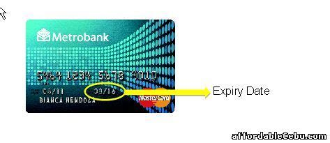 Sle Credit Card Expiration Date how to inquire metrobank credit card account balance thru banking banking 29577