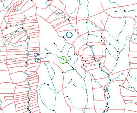 Arcgis Tutorial Geometric Network   arcgis desktop geometric network find upstream