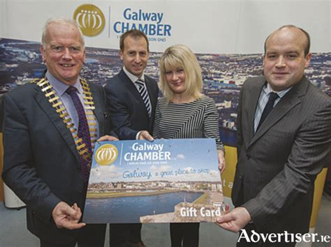 Tax On Gift Cards To Employee - advertiser ie galway chamber launches new gift card allowing companies to provide
