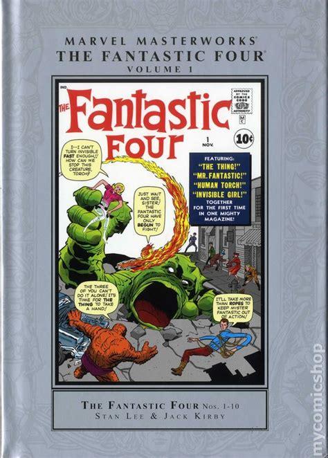 the book of fantastic four multilingual edition books marvel masterworks fantastic four hc 2015 marvel comics