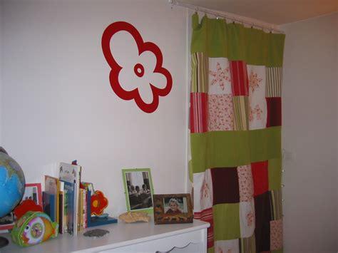 patchwork pour un rideau tout en couleur photo de