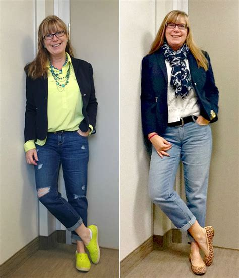 jeans for women in their 40 how to wear jeans with a jacket or cardigan