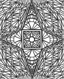 Mosaic Coloring Pages To Print » Simple Home Design