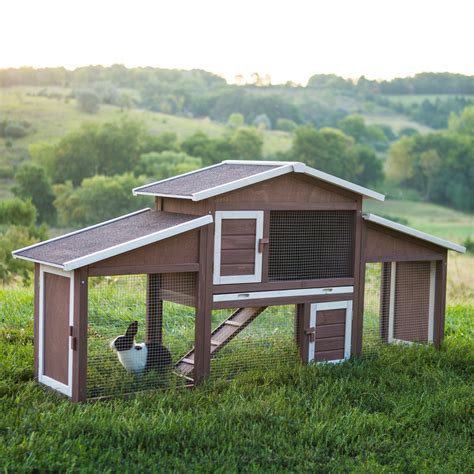 Handmade Chicken Coops For Sale - boomer george dual use rabbit hutch chicken coop