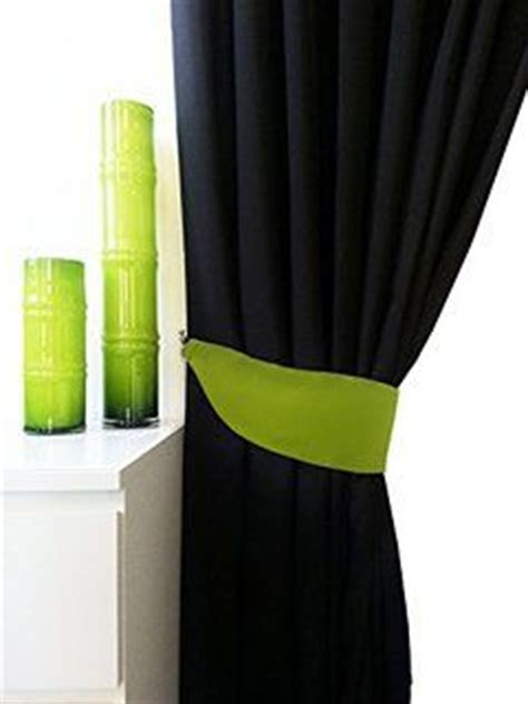 lime green and black curtains pair of 3 tone fully lined ring top eyelet curtains in lime green black grey pair of tie backs