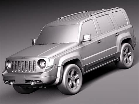 2014 Jeep Models 3d Model 2014 Suv Jeep