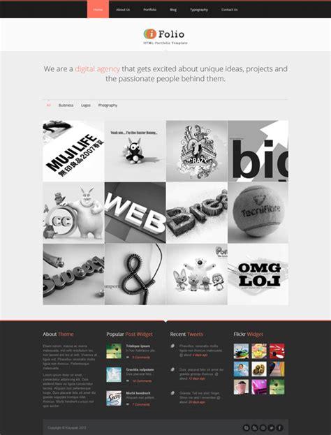 ifolio premium responsive html5 portfolio website