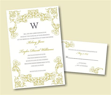 64 print your own design wedding invitations how to