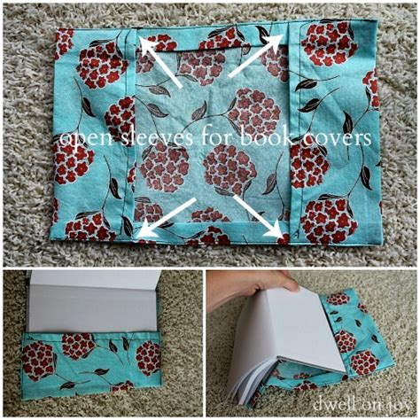 pattern for fabric journal cover craftionary