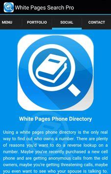 Free White Pages Lookup White Pages Search Pro Apk Free Tools App For Android Apkpure