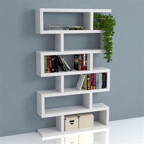 mensola bianco lucido mensole design libreria scala porta oggetti colore bianco