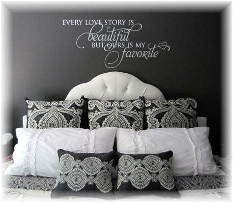 comforter with words master bedroom makeover dark gray walls white gray