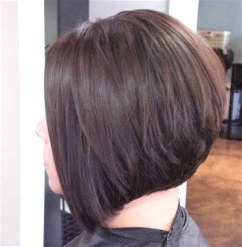 photos of the back of short angled bob haircuts stacked angled bob long hairstyles