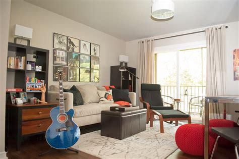 living room song musician s row condo in nashville contemporary living room nashville by kristie