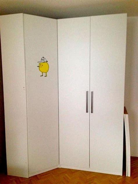 Pax Ikea Eckschrank by Ikea Pax Schrank Wei 223 2 36 Hoch 2m Breit Mit Eckschrank In