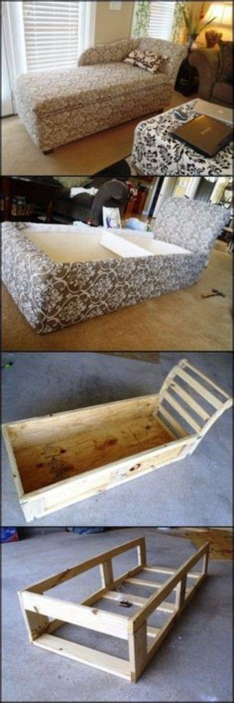 make your own chaise longue 35 cool diy sofas and couches furniture creative