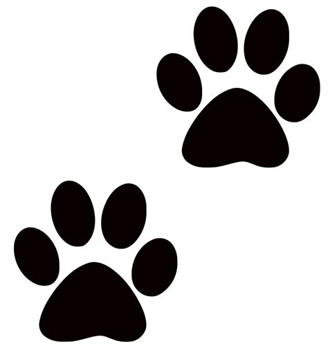 Large Paw Print Clip by Paw