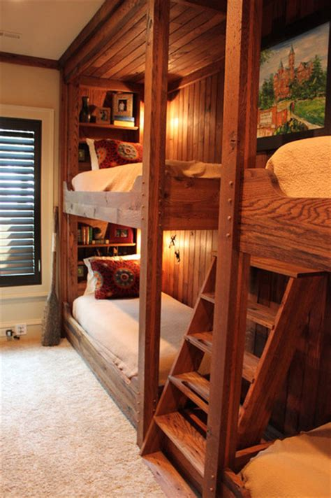 Bunk Bed Traditional Bedroom Birmingham By Evolutia Cabin Bunk Beds For