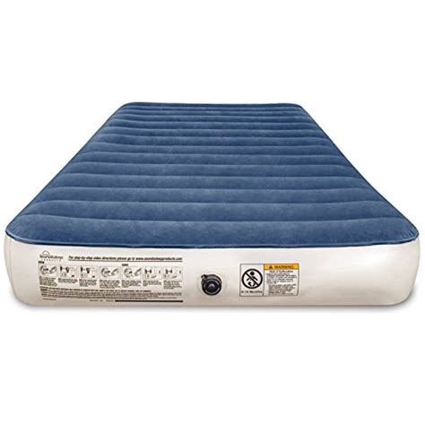 Best Air Mattress For Home by Soundasleep Cing Series Air Mattress With Eco Friendly Pvc Included Rechargeable Air