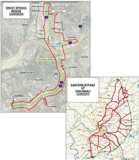 kentucky dot map ky transportation cabinet issues rfp for study to