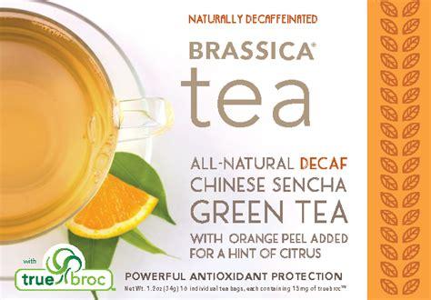 Decaf Green Tea with TrueBroc® and Natural Orange Flavor