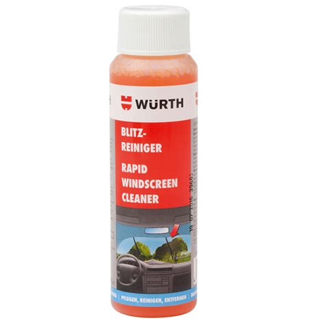 Wurth Rapid Windscreen Cleaner wurth car care products range ppcco shop