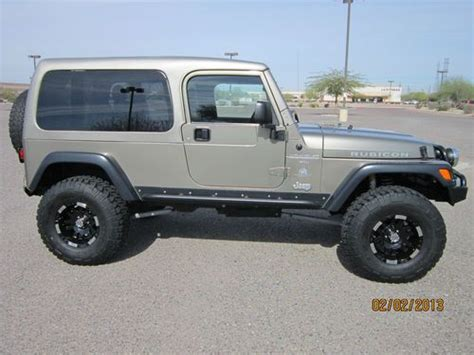 Jeep Wrangler 2 Door Wheel Base Sell Used 2003 Jeep Wrangler Rubicon Wheel Base Sport