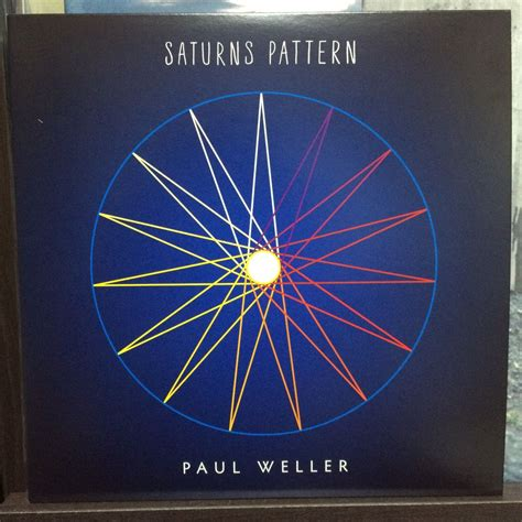 paul weller saturns pattern japanese edition 2015 saturns pattern 7 single paul weller おんがくりょこう