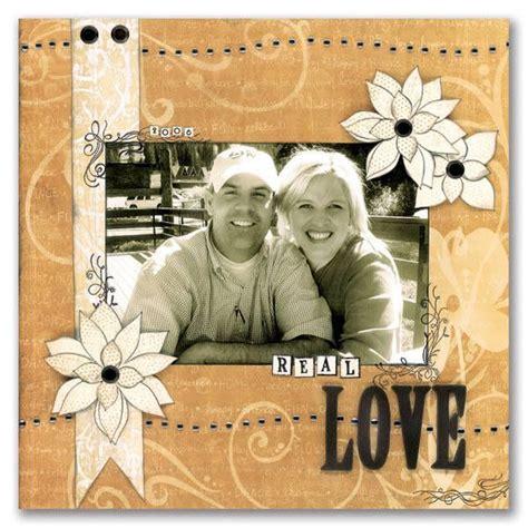 scrapbook layout ideas for engagement wedding scrapbook layouts scrapbooking and more pinterest