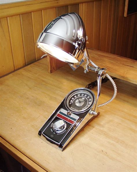Vintage Retro Cooper Harley Metal Iron Table Clock Jam Meja 146 best images about chromesculpture on halogen l ls and derby