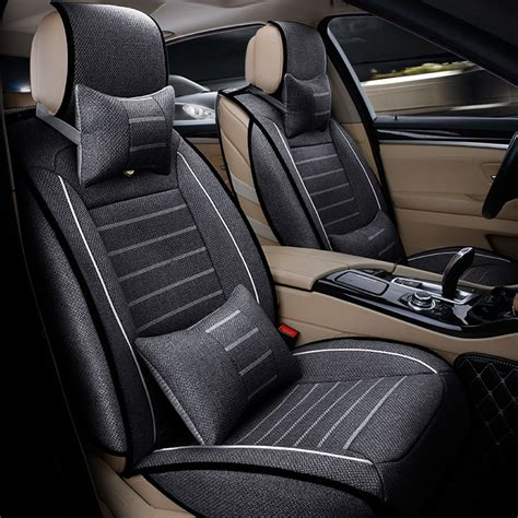 volkswagen seat covers tiguan high quality linen universal car seat covers for