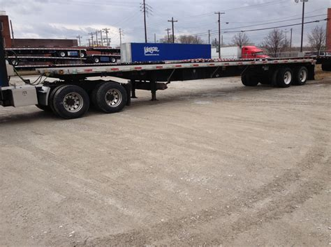 flat bed trailers for sale 2002 utility flatbed trailer for sale mercer